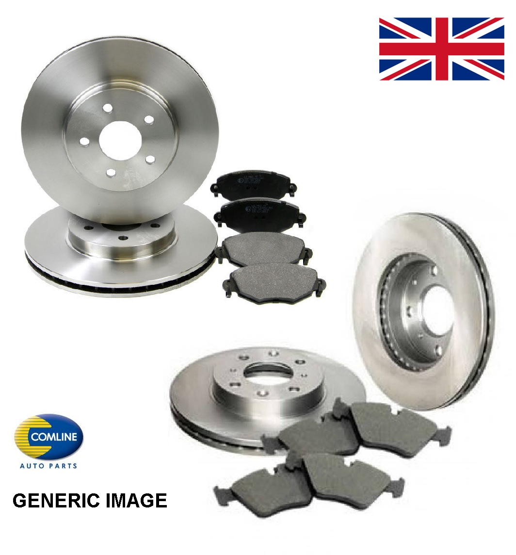Mazda 6 GH 1.8 MZR Comline Rear Brake Discs /& Pad Set