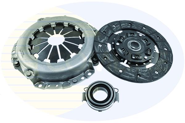 3 Pc Clutch Kit Fits Toyota Auris 1.4 D-4D Semi-automatic 5 Speed ...