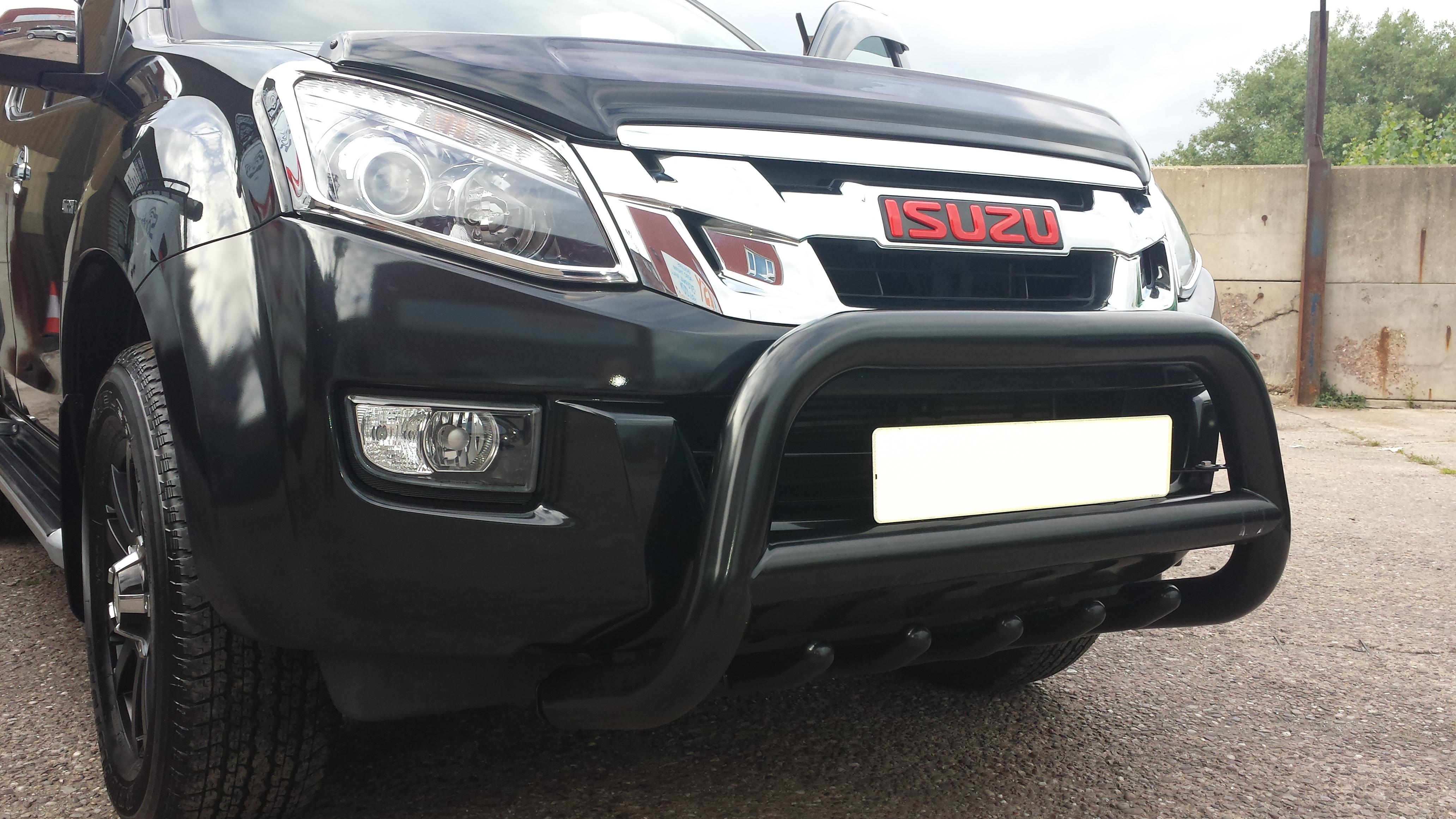 Isuzu D Max 2012 On Stainless Steel Black Axle Sump Guard