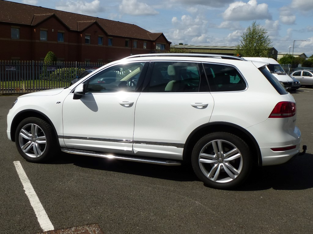Vw Touareg 2010 Raptor Side Steps Aluminium And Stainless Steel Boxed Ebay