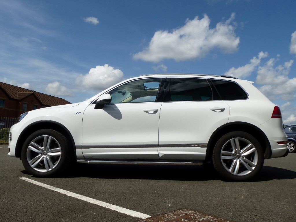 Vw Touareg 2010 Raptor Side Steps Aluminium And Stainless