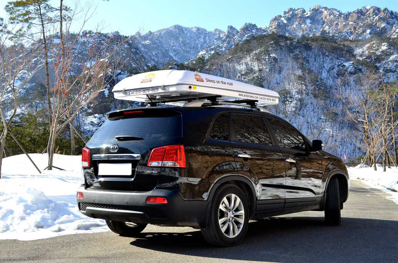 Mag-Tower 2 Man Hard Shell Roof Tent Rack 125cm Wide C&ing Land Rover Defender & Mag-Tower 2 Man Hard Shell Roof Tent Rack 125cm Wide Camping Land ...