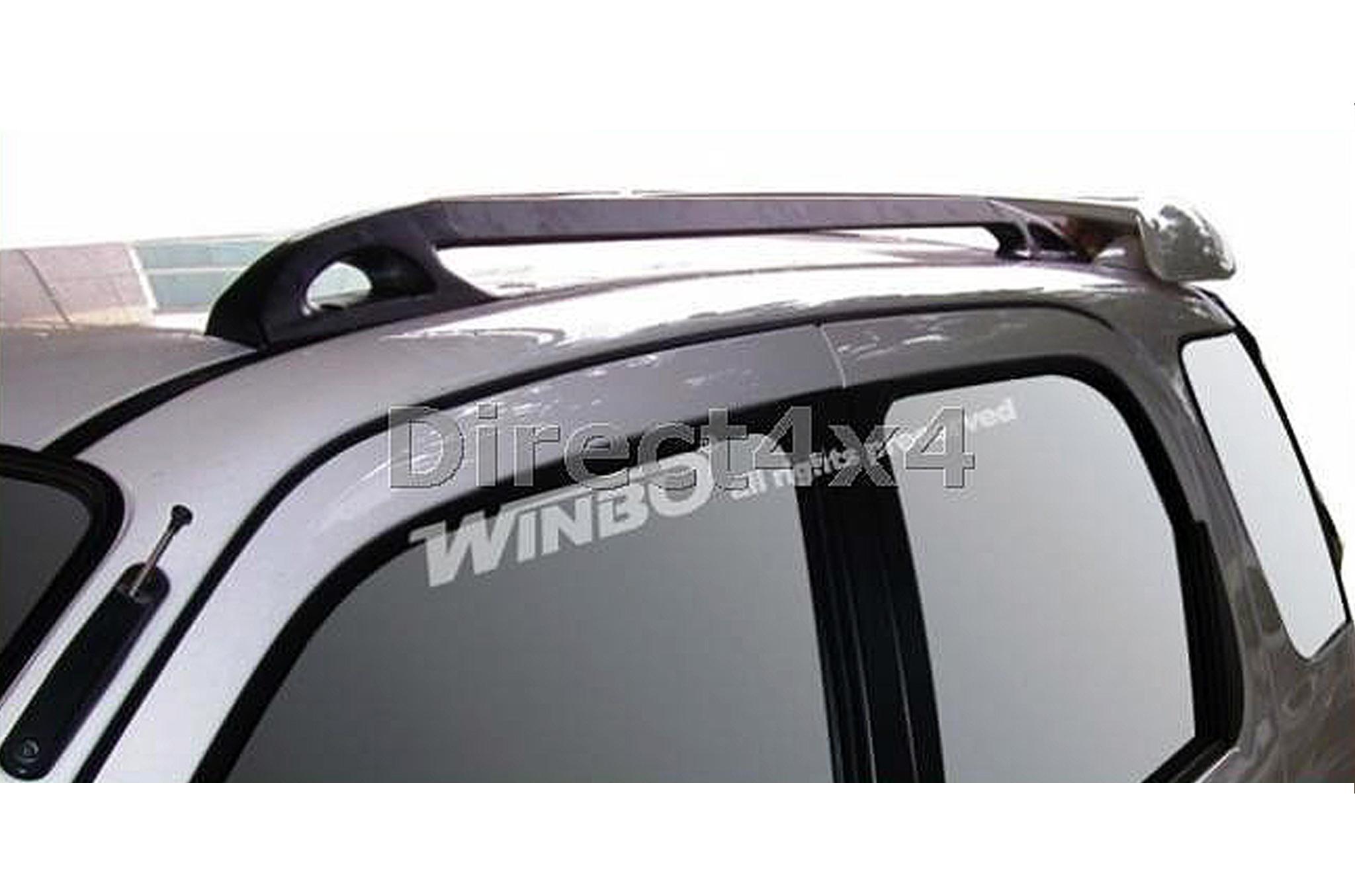 Exceptional Daihatsu Terios 97 06 Roof Rack Ladder Bars And Rails Travel Aluminium Black