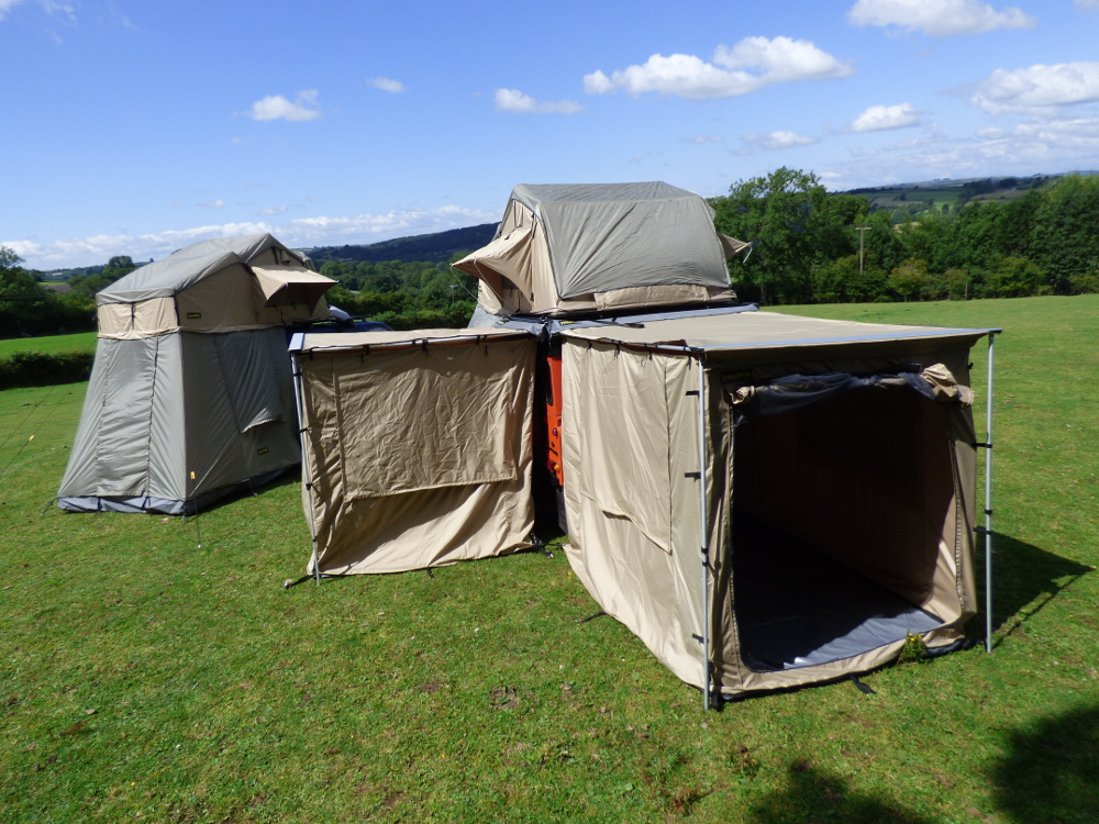 2.0M X 2.5M Expedition Awning Outdoor Tent For 4X4S Vans ...