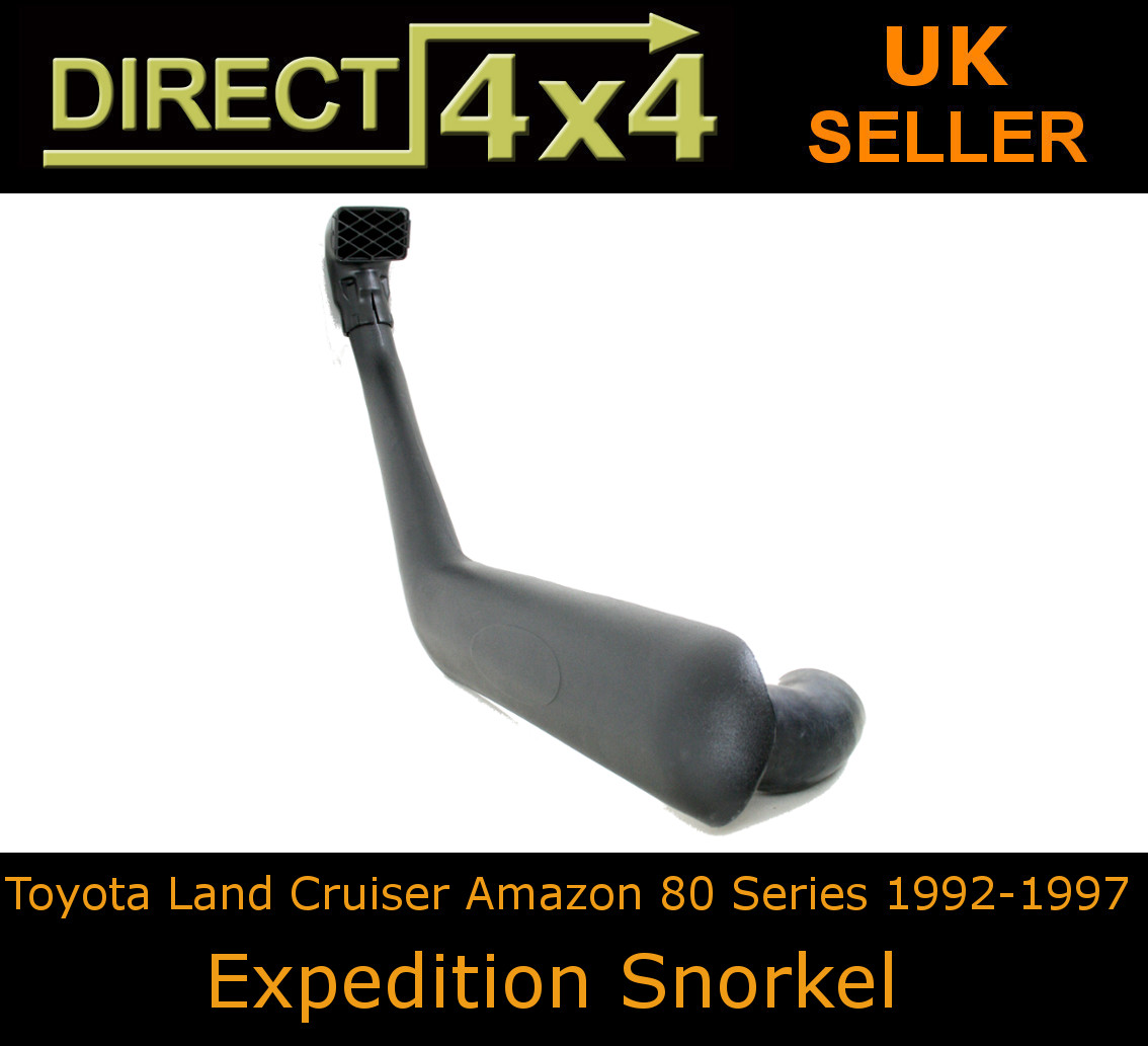 Details about Toyota Land Cruiser Fj80 80 Series Off Road Look Snorkel Kit  Expedition Air Ram