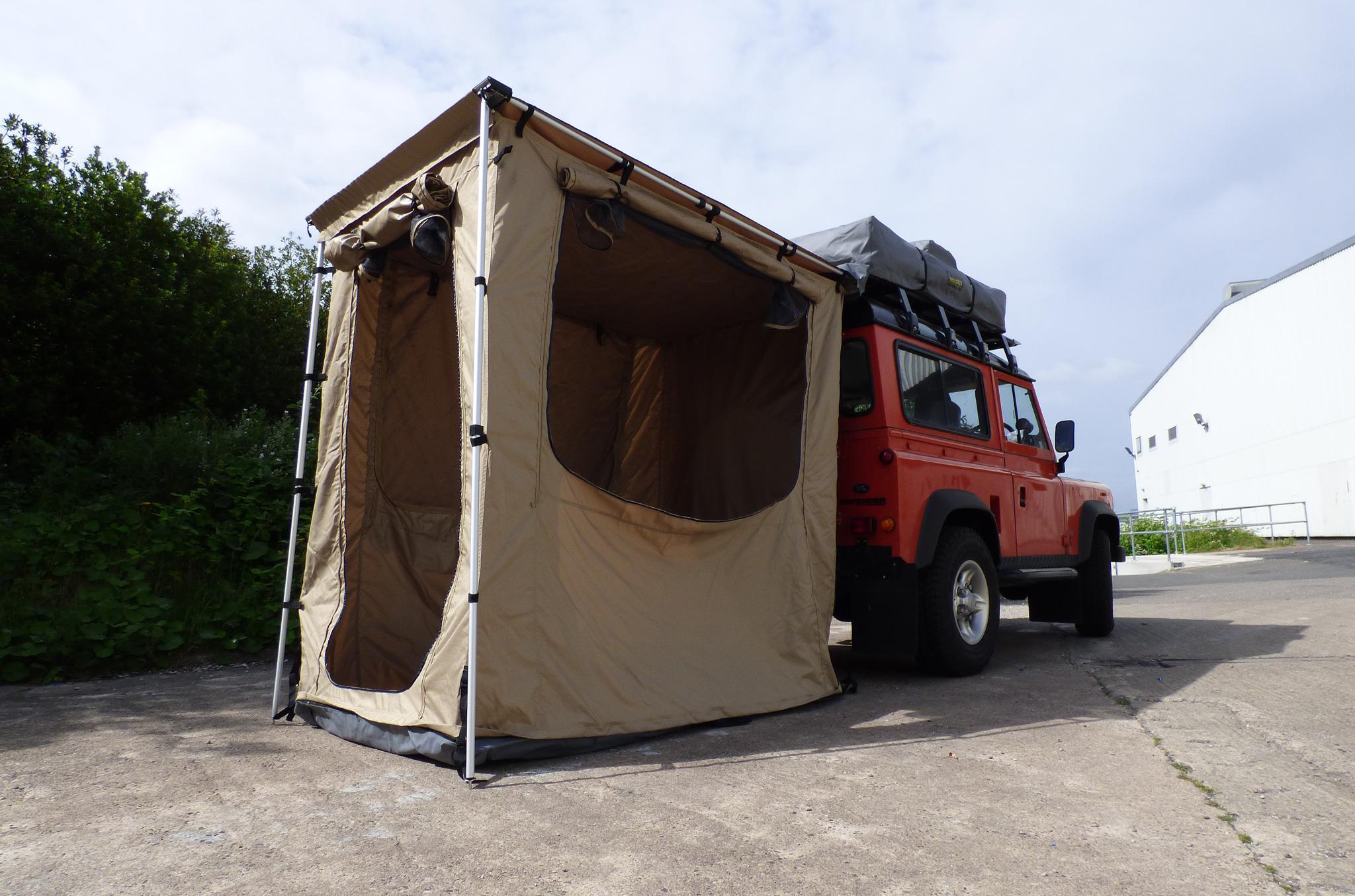 14M X 20M Pajero Shogun Tent Awning Expedition Safari Heavy Duty Exterior