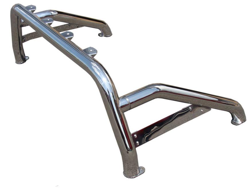 Isuzu D Max Stainless Steel Roll Bar Sports Single Loop