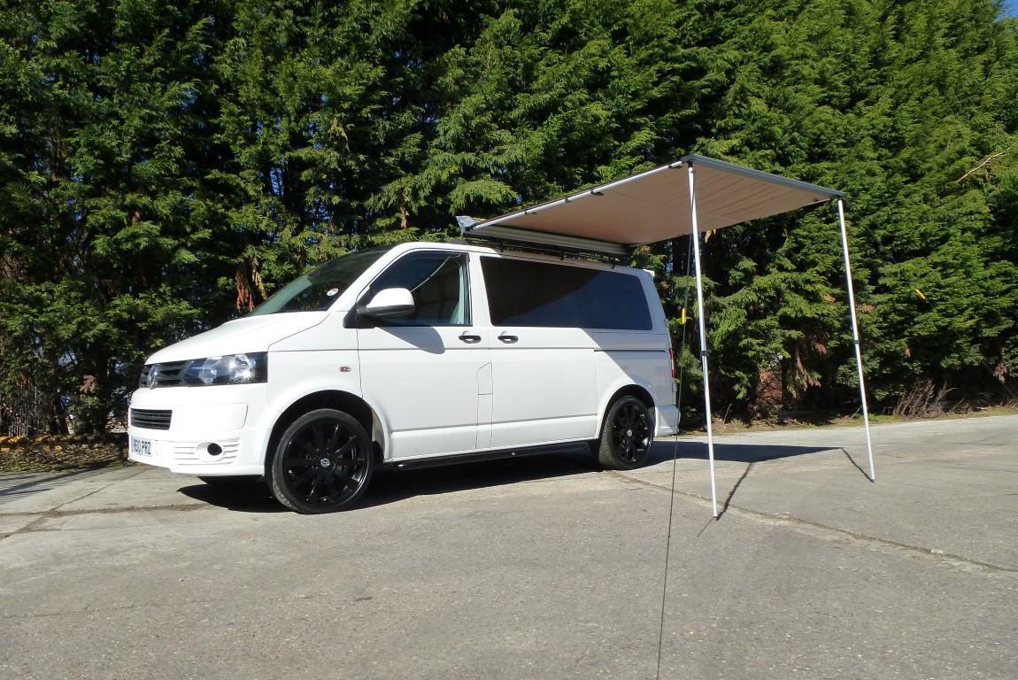 2M X 25M Van Pull Out Awning For Heavy Duty Roof Racks Tents Vans