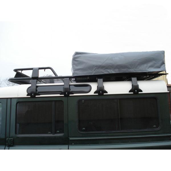 Land Rover Defender 110 Slimline Ii 3 4 Roof Rack Kit: Land Rover Discovery 1 And 2 1989-04 Roof Rack Black