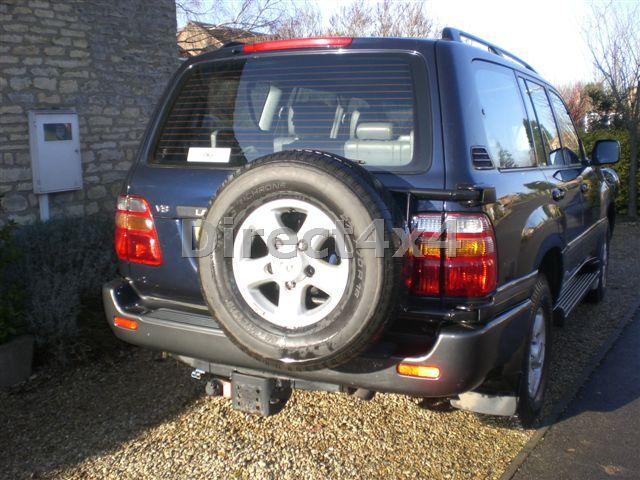 Toyota Fj100 Land Cruiser Swing Awy Spare Wheel Carrier