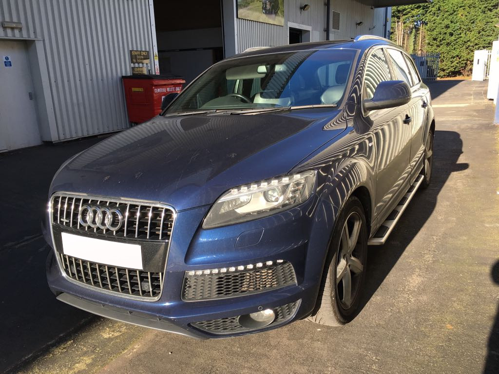 Audi Q7 2005-2015 OEM Style Stainless Steel Side Steps And Bars Running Boards   eBay