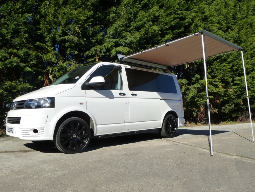 Van Guard Vito 03 14 2 Ulti Roof Bars 1485mm With Pull Out Awning 2M X