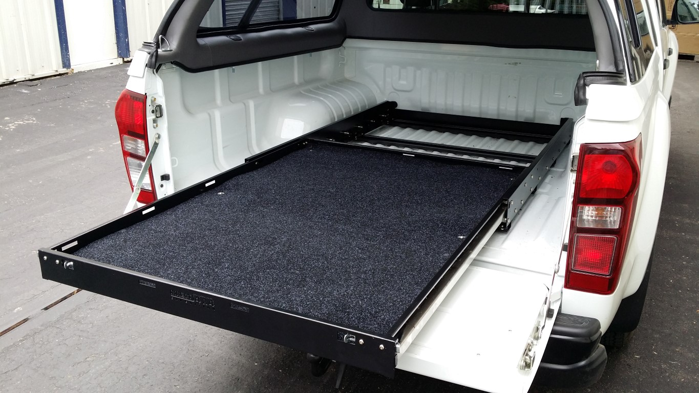 Pick Up Van Rear Bed Slide Out Sliding Cargo Tray Exterior