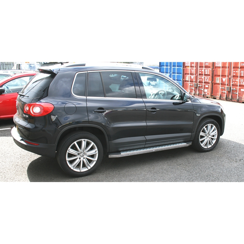 Volkswagen 2015 Tiguan: VW Tiguan 2012-2015 Freedom Side Steps Aluminium And