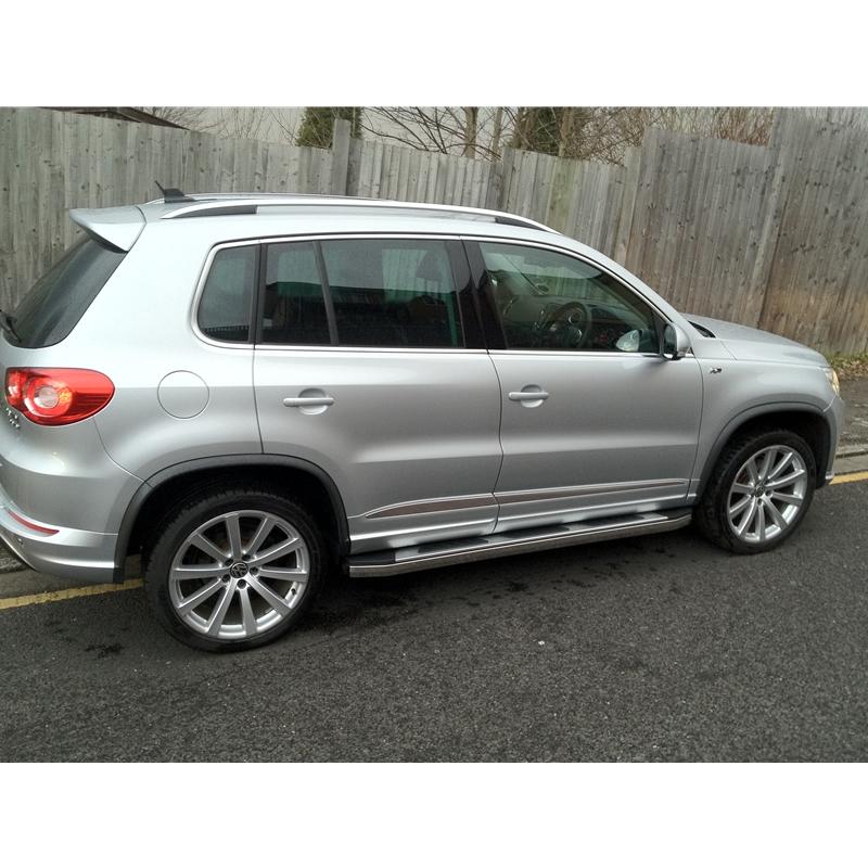 Volkswagen 2015 Tiguan: VW Tiguan 2012-2015 Suburban Aluminium And Stainless Steel