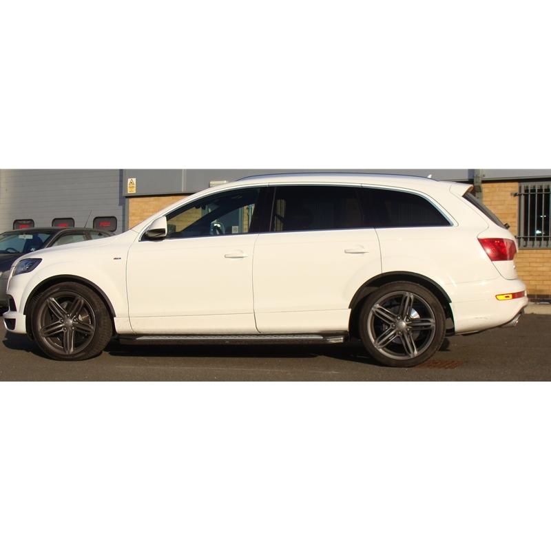 Audi Q7 2005-2015 Freedom Aluminium Side Steps Bars