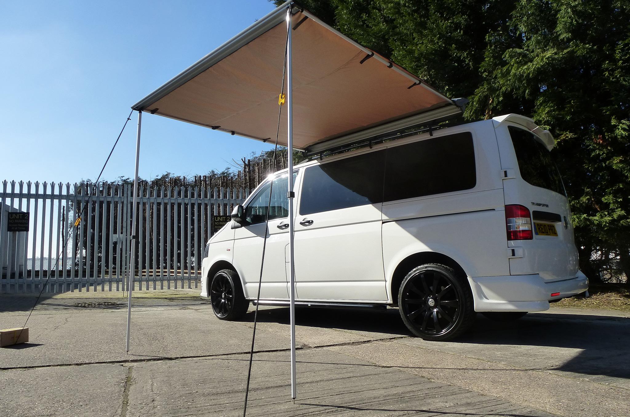 2M X 2M VW C&er Van Tent Awning Heavy Duty Roof Racks Tents Safari Outdoor & 2M X 2M VW Camper Van Tent Awning Heavy Duty Roof Racks Tents ...