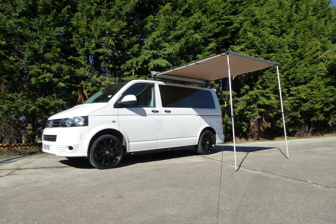2 0m X 2 5m Pull Out Van Awning 4x4 Motor Home External