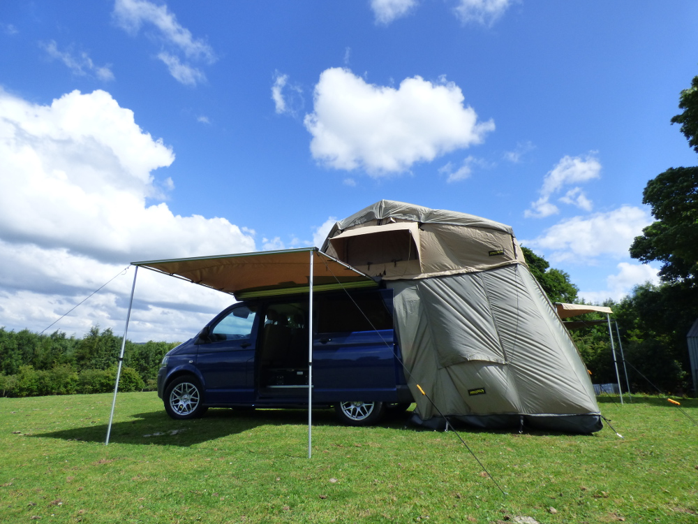 King Size 4 Man Expedition Roof Tent For 4X4S Vans u0026 Motorhomes Family Tent & King Size 4 Man Expedition Roof Tent For 4X4S Vans u0026 Motorhomes ...