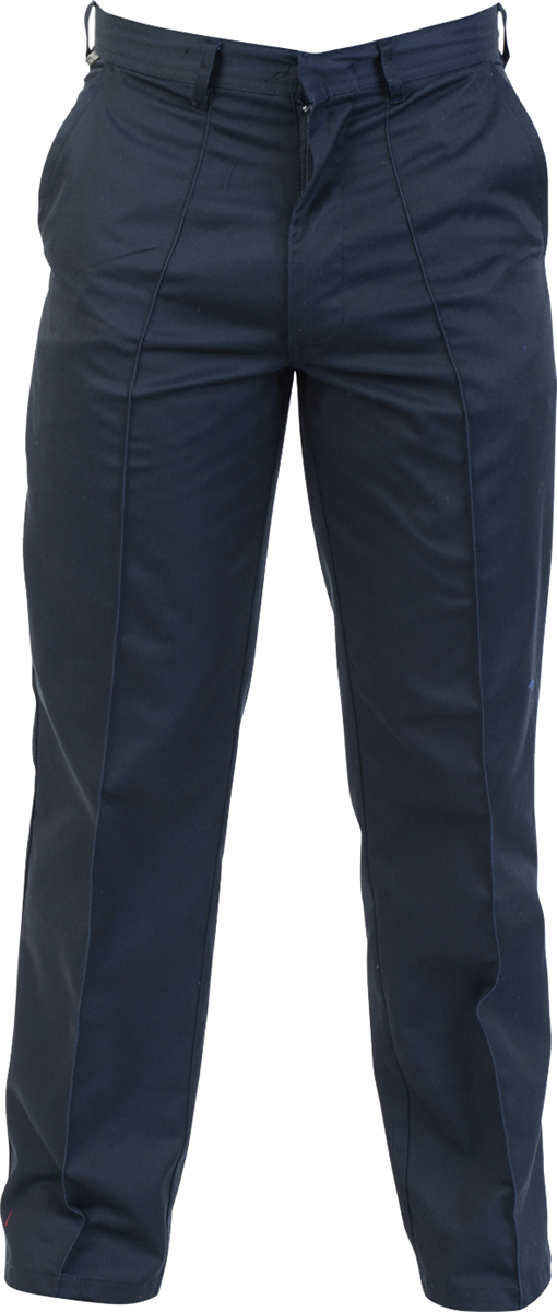 Absolute-Apparel-Men-Adults-Flat-Front-Styling-Polycotton-Workwear-Work-Trousers