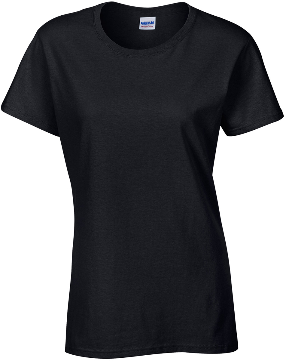 38524f3a978 Gildan Women Adults Seamless Collar Semi-Fitted Tee Ladies Heavy T ...