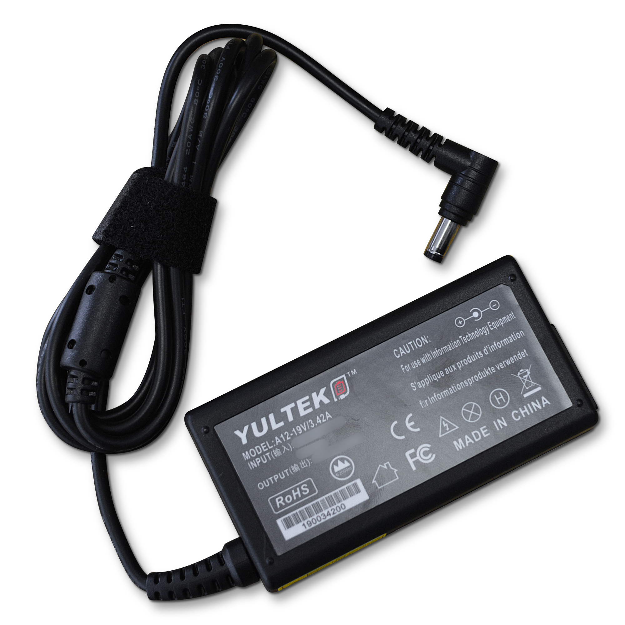 Fujitsu-Siemens Part Number UWL:76G01B65R-5A Laptop Charger