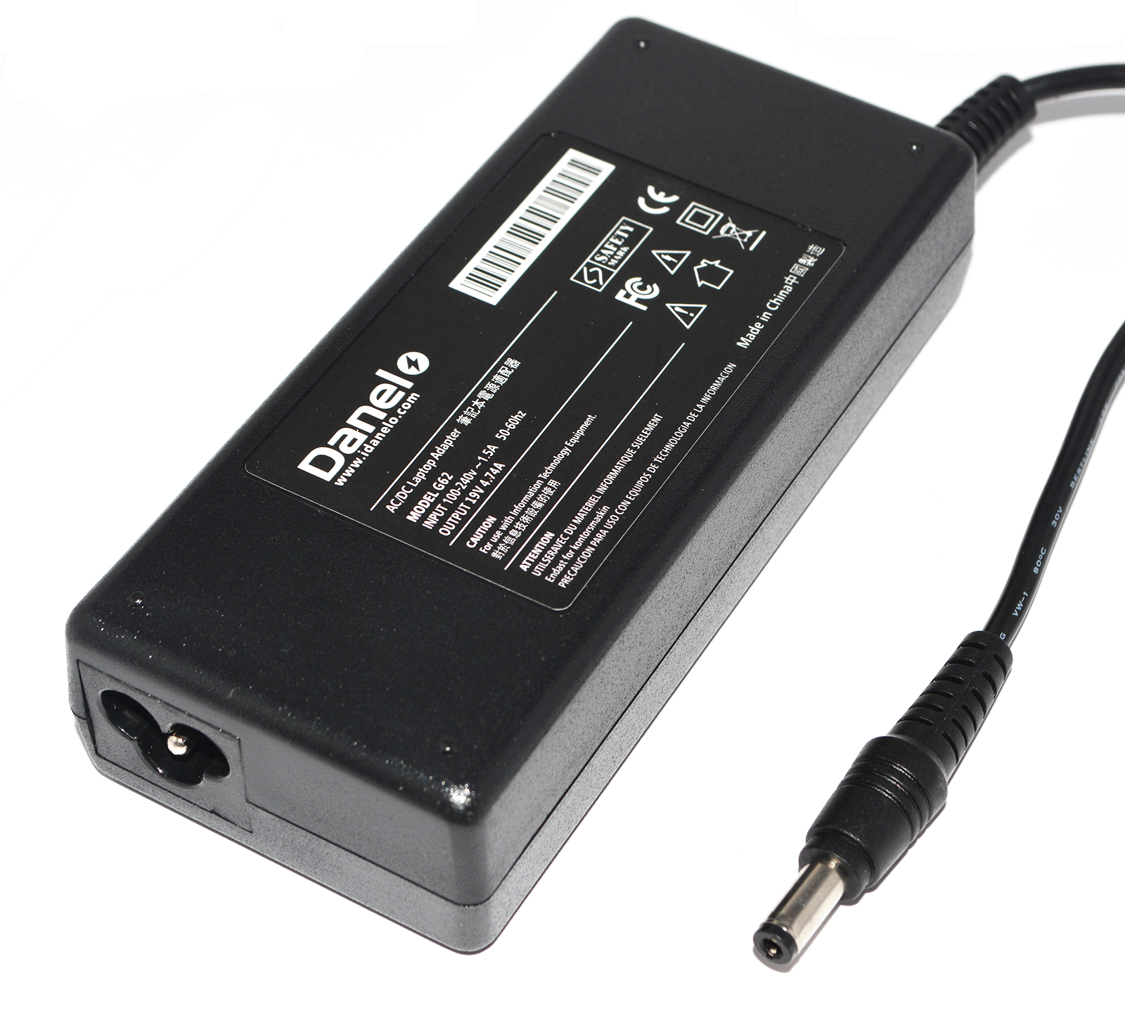 Fujitsu-Siemens Part Number ADP-80NBA Laptop Charger