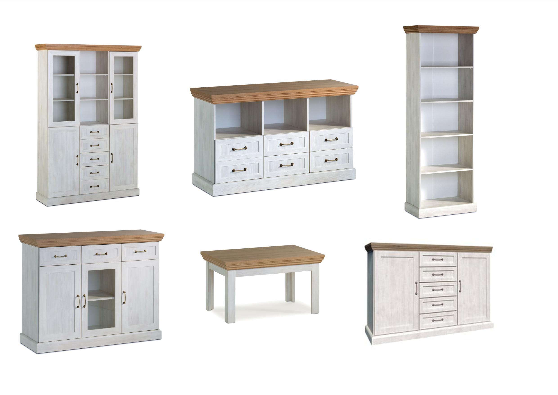 Devonshire White & Oak Furniture