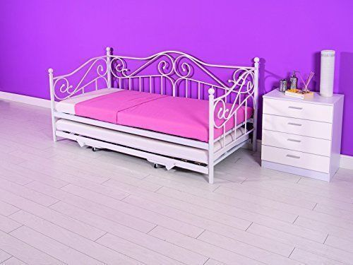 Single Daybed With Pull Out Trundle Bed Underneath