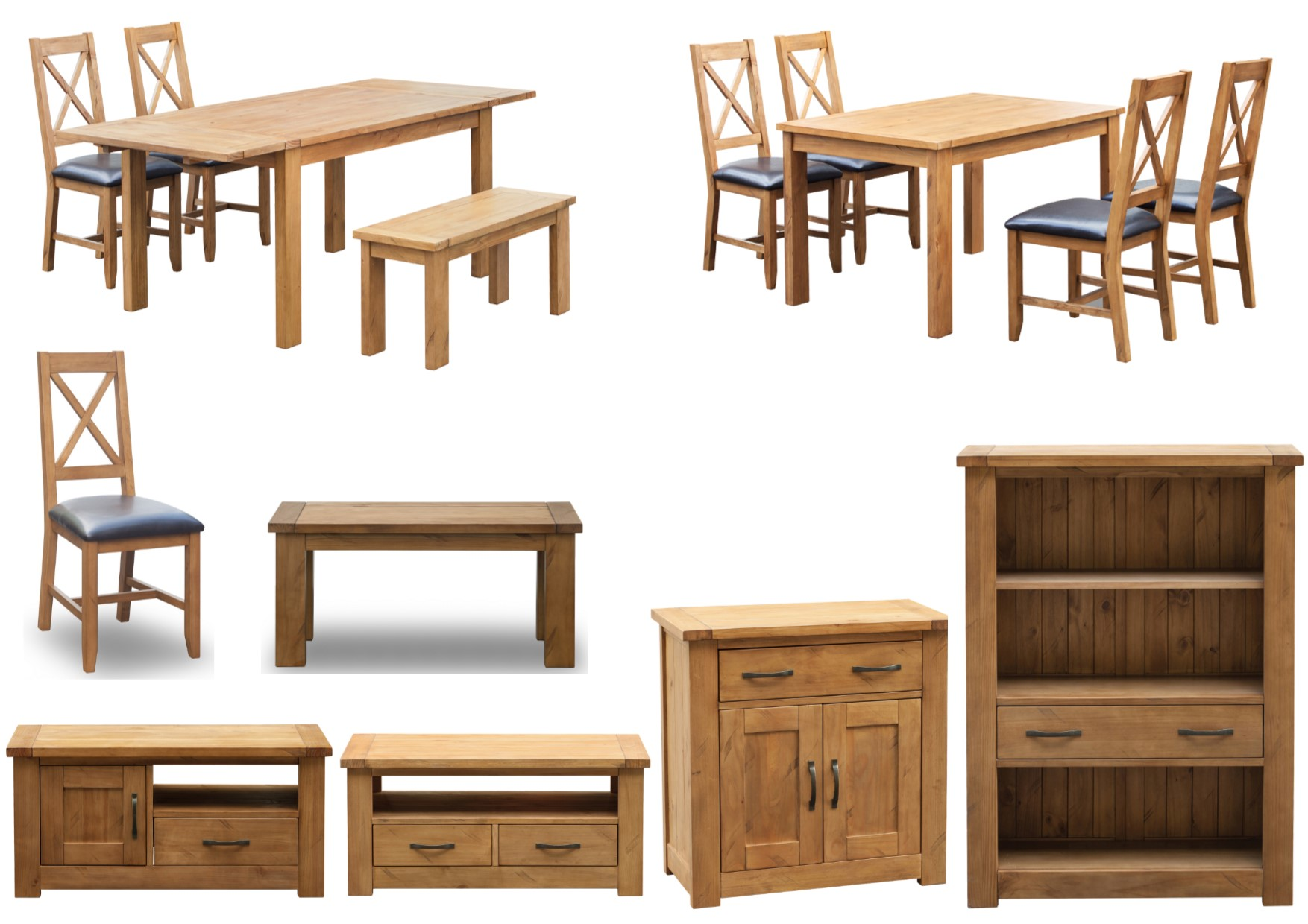 Boden Rough Sawn Pine Furniture