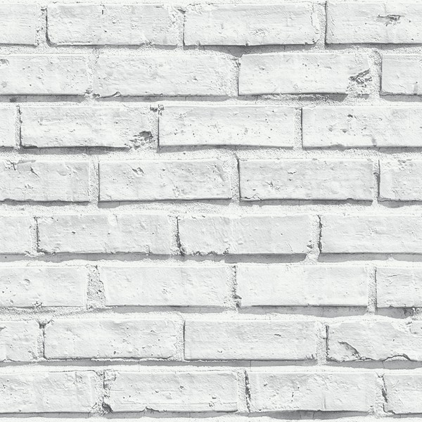 Arthouse white brick 3d effect modern wallpaper stone wall for 3d effect wallpaper for home