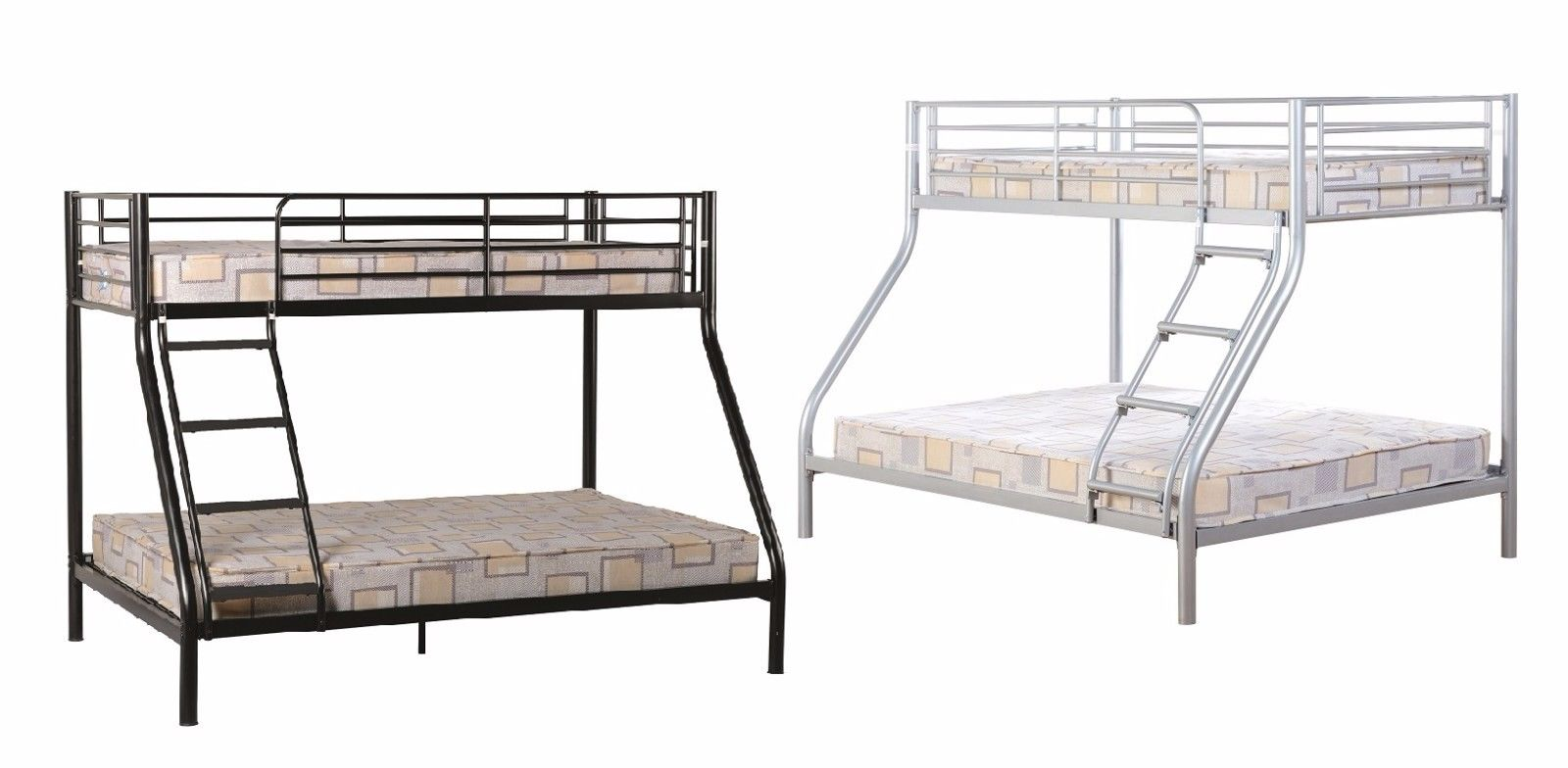 Tandi Triple Sleeper Bunk Bed Kids Teen 3ft Single 4ft6 Double ...