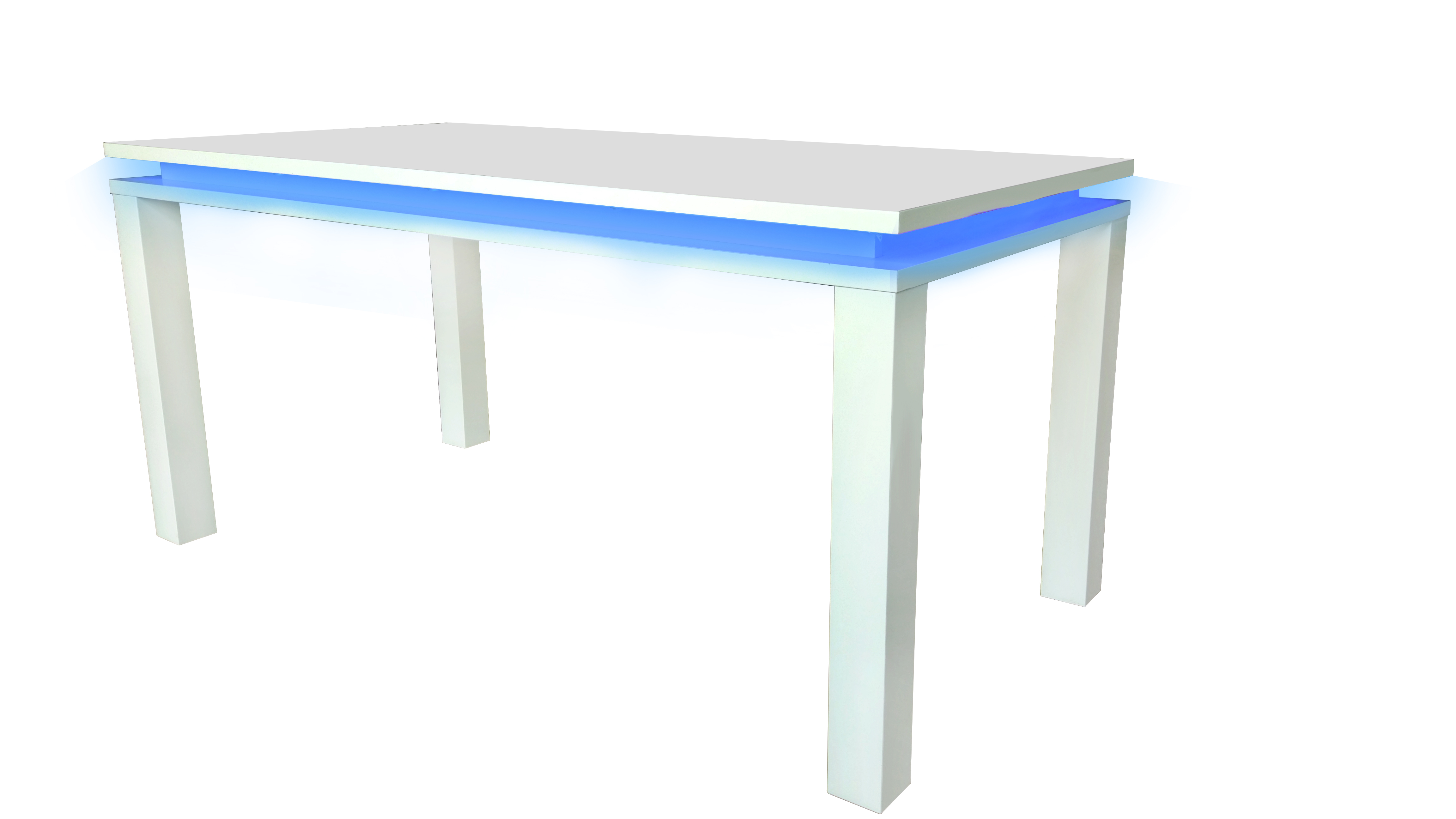 Milano High Gloss Modern Dining Room Table