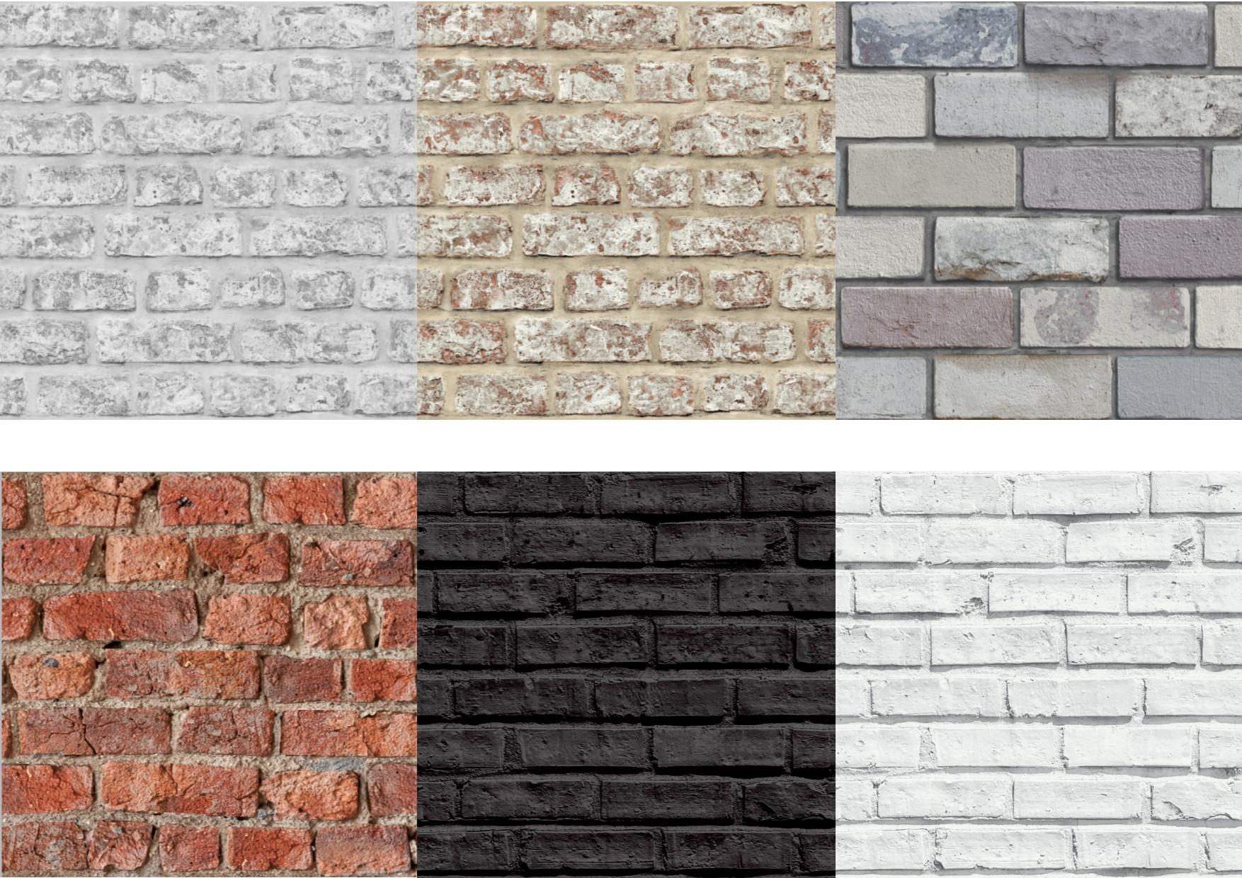 Arthouse 3d effect brick wallpaper 629004 623007 696600 for 3d brick wallpaper uk