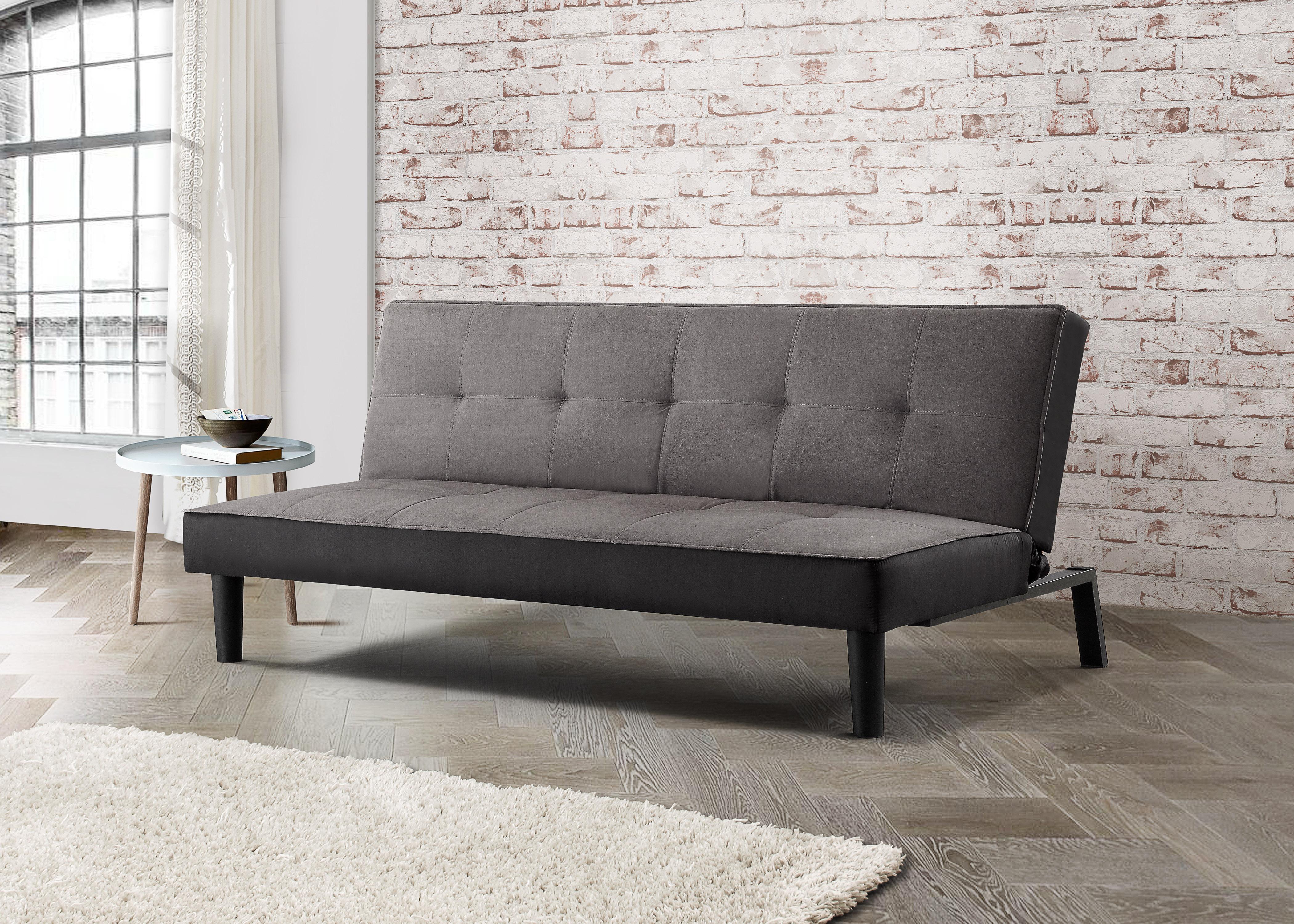 birlea aurora contemporary minimalist sofa bed grey fabric rh ebay co uk sofá minimalista sofa minimalista blanco