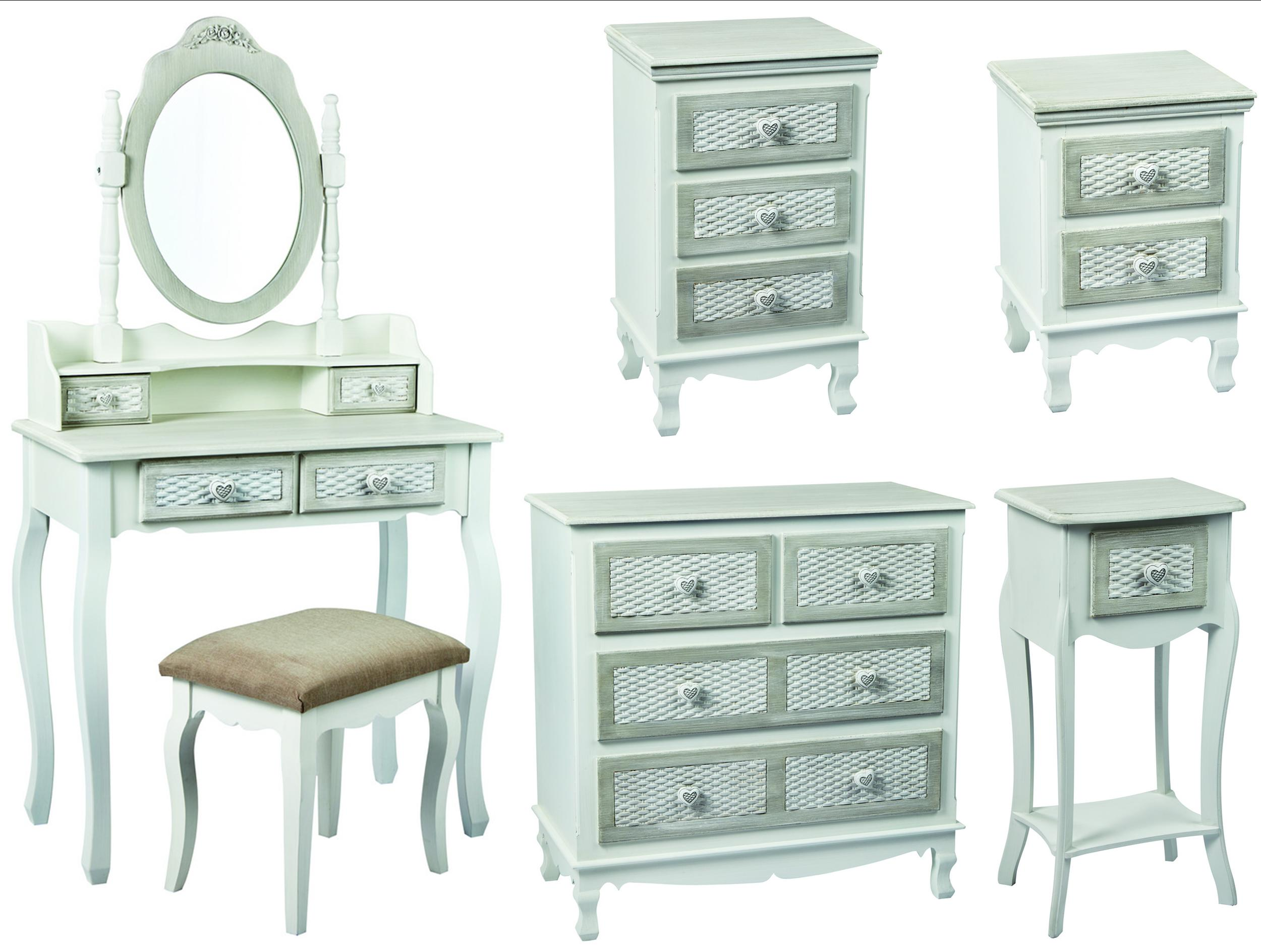 Grey Shabby Chic Bedroom Furniture