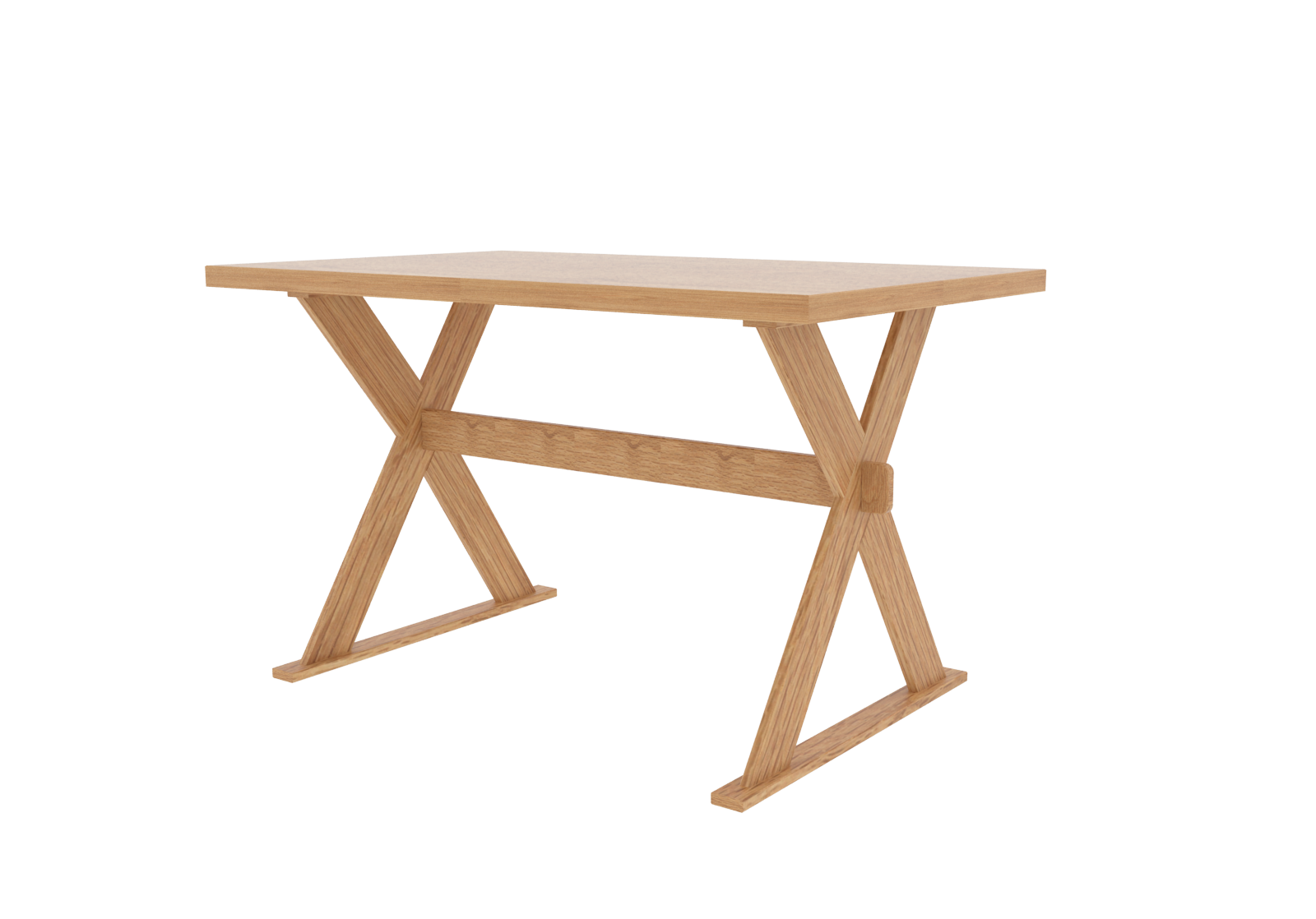Lpd Seville Light Oak Dining Table Solid Wood Contemporary Criss
