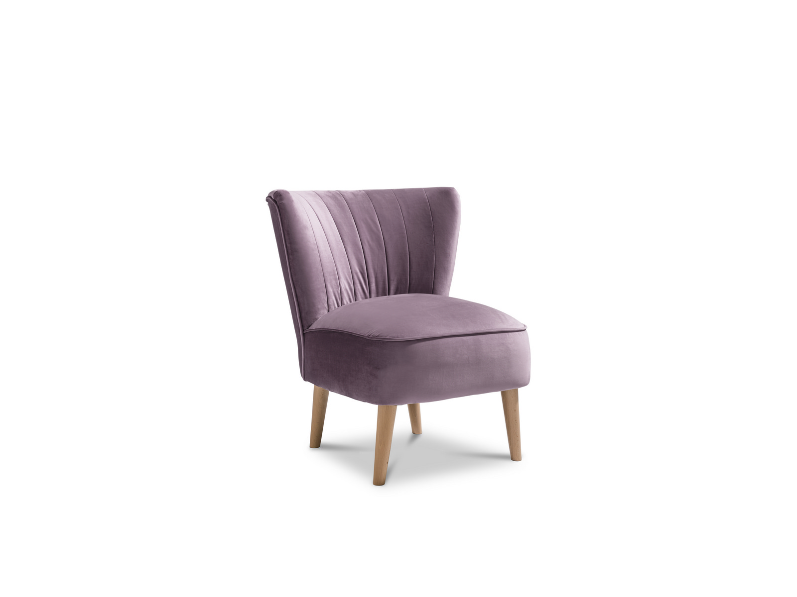 Picture of: Malmesbury Accent Chair Plush Lilac Light Legs Fabric Armchair 5055641339922 Ebay