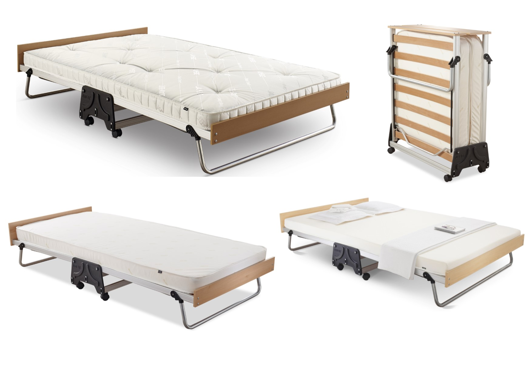 Jay Be J Bed Compact Folding Metal