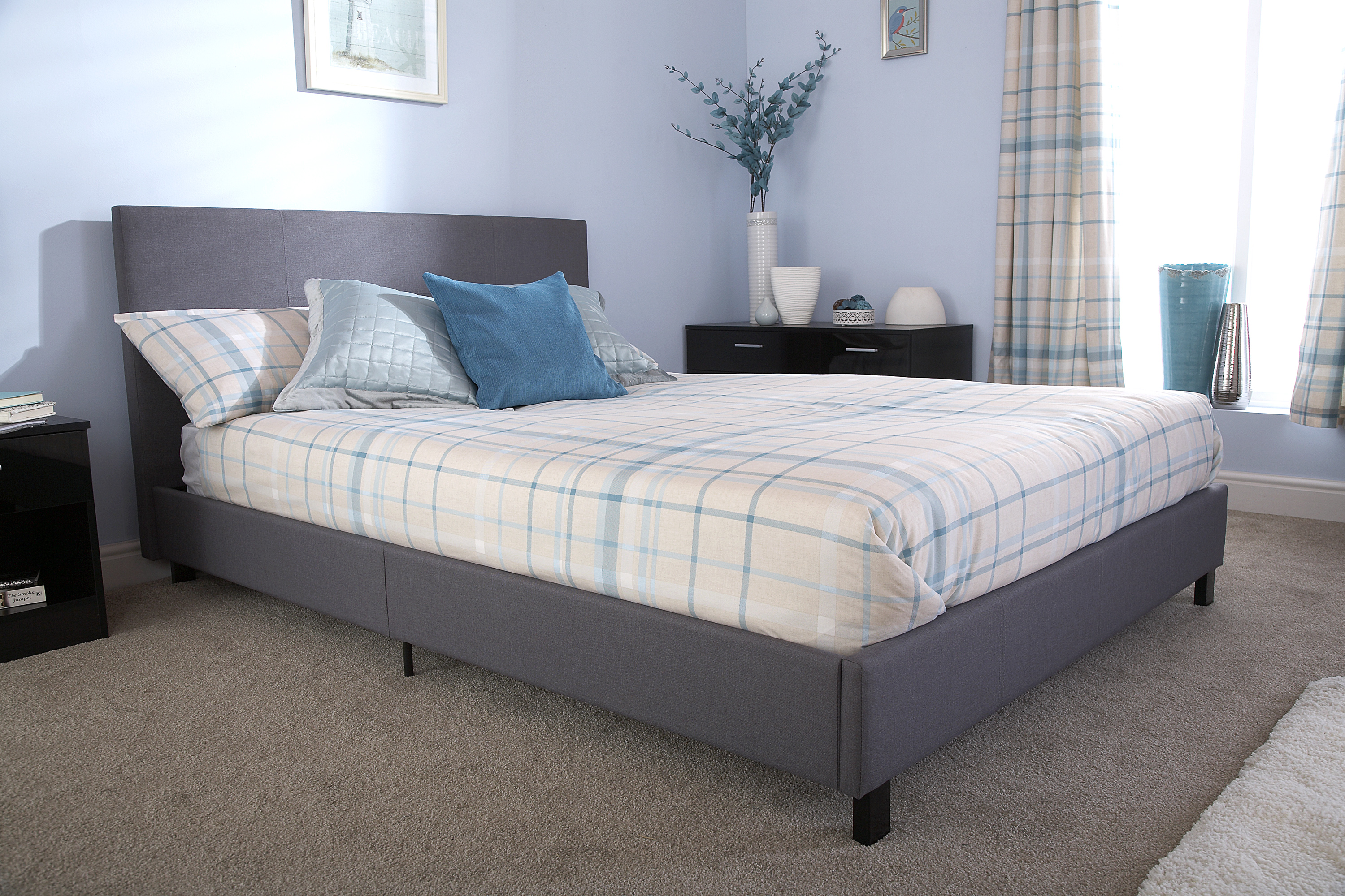 sterling studio free bed contemporary by garden upholstered overstock fabric today product home creek baxton laurel shipping
