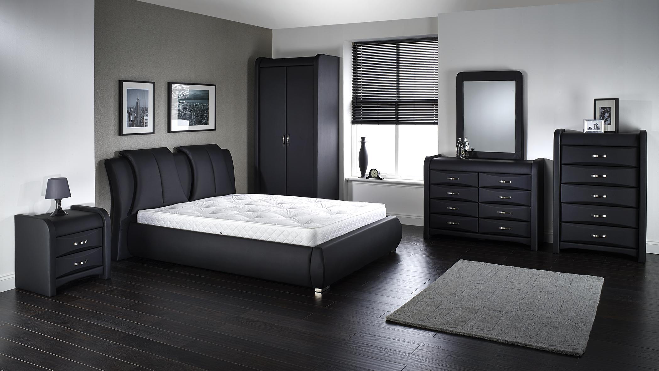King Size Leather Bedroom Sets - Bedroom design ideas