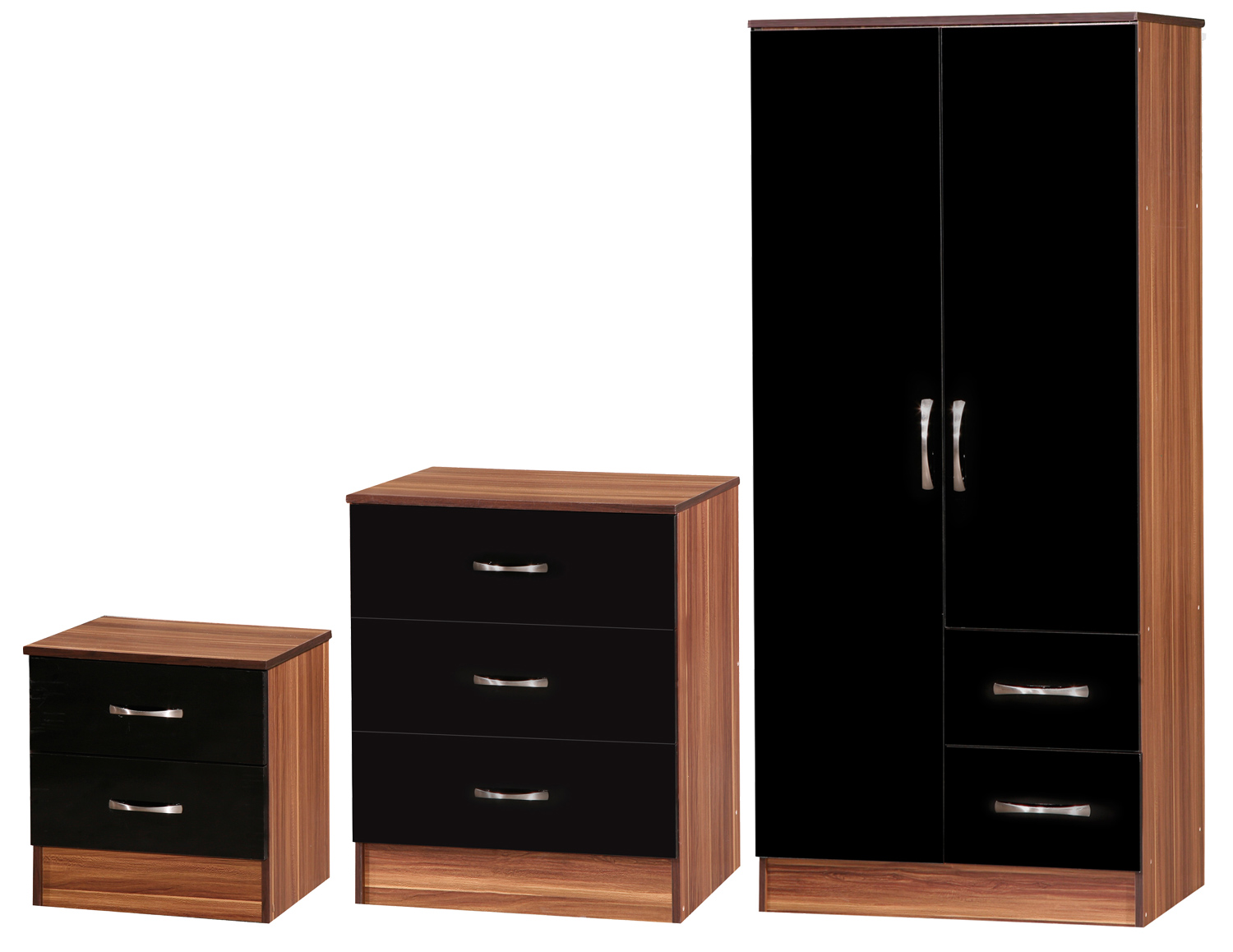 Las Vegas High Gloss Bedroom Furniture