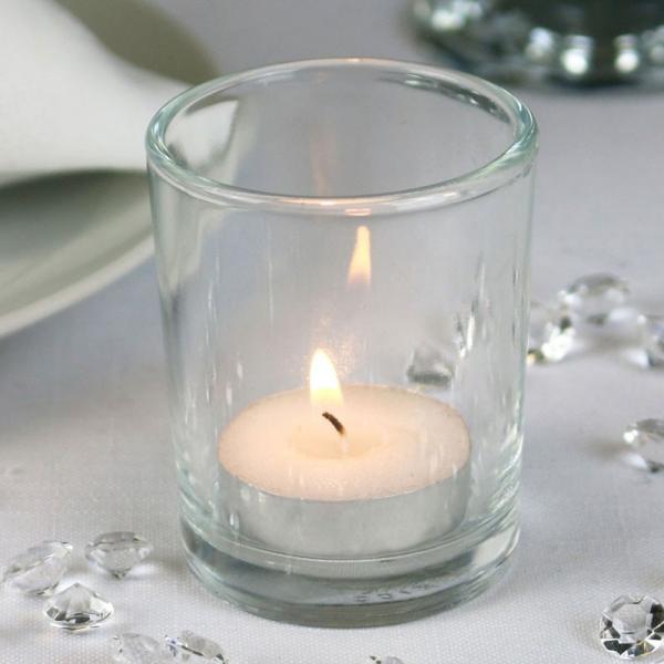 bulk buy glass votive tea light candle holder wedding decoration stlyes colour ebay. Black Bedroom Furniture Sets. Home Design Ideas