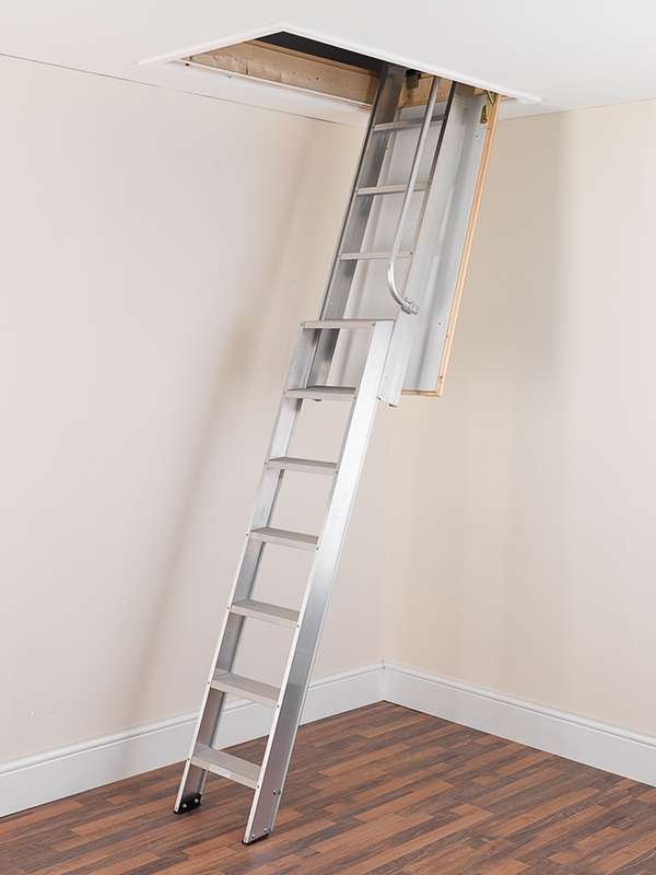 Ramsay Al Aluminium Sliding Loft Ladder Ideal For