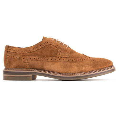 Base-London-Turner-Mens-Brown-Suede-Leather-Country-Brogues-Shoes-Size-8-11 thumbnail 10