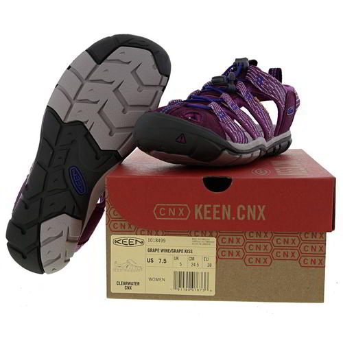 Keen Clearwater Femme Femmes Violet Réglable Walking Sandales Chaussures Taille 4-8