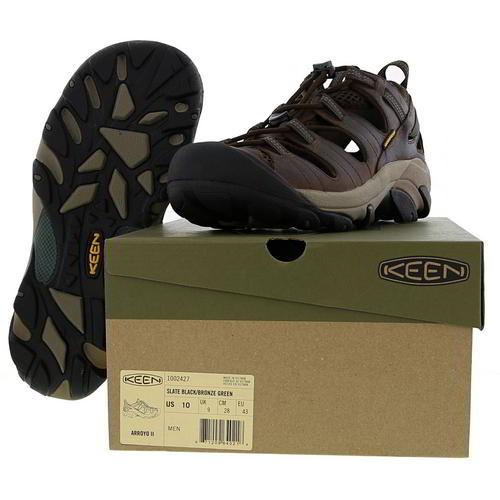 Keen-Arroyo-II-Mens-Waterproof-Walking-Hiking-Water-Sandals-Brown-Size-8-14 miniatura 11