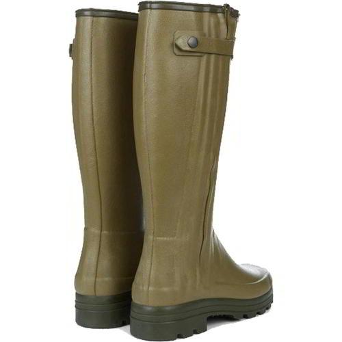 Le Zip 10 Mens 7 Boots Zu 5 Chasseur Neoprene Wellington Wellies Details Chameau Size JK1lFc