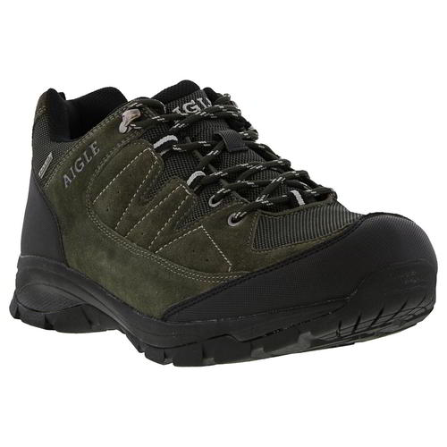 Aigle-Mens-Waterproof-Walking-Shoes-Vedur-Low-Green-Hiking-Trainers-Size-8-11 thumbnail 12