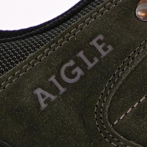 Aigle-Mens-Waterproof-Walking-Shoes-Vedur-Low-Green-Hiking-Trainers-Size-8-11 thumbnail 13